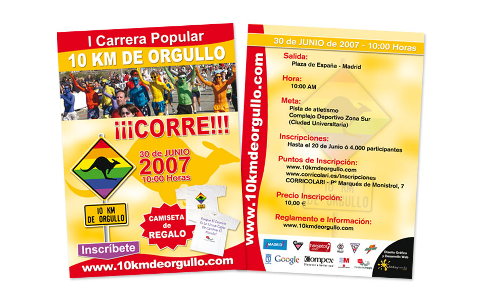 Flyer A5 Carrera 2007