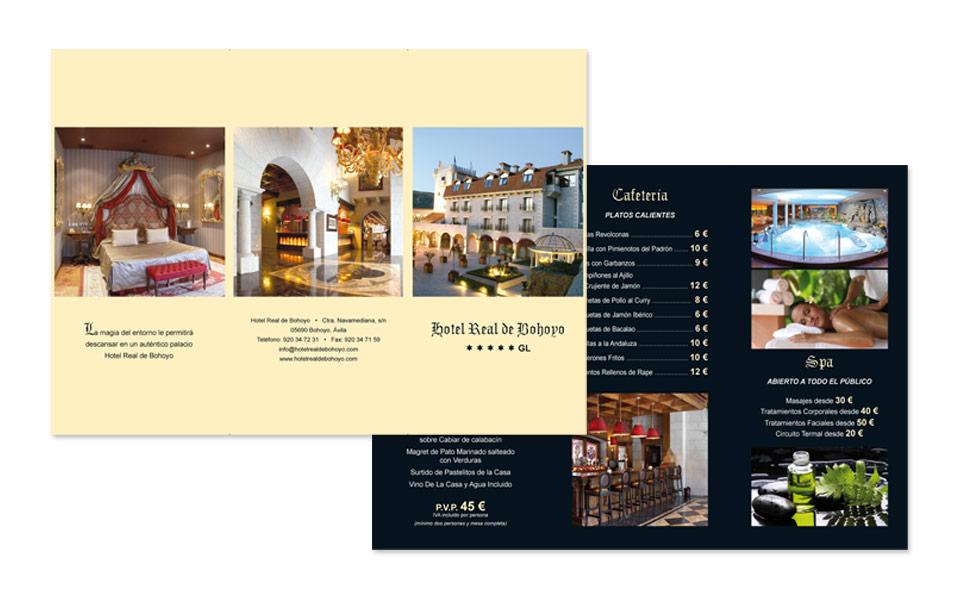 Hotel real bohoyo diseo grfico y web en madrid - Hoteles de diseno en espana ...